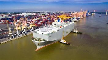 Cảng Tân Vũ tiếp nhận và khai thác an toàn tàu RO-RO JASA MURNI V.1A