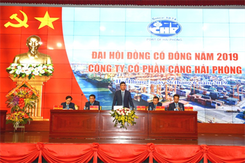 Annual General Meeting of Shareholders 2019 of Port of Hai Phong JSC