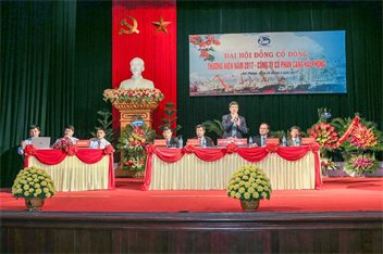 Port of Hai Phong Joint Stock Company's General Meeting of Shareholders was successful.