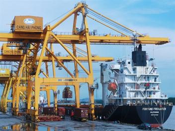 Giá dịch vụ cảng biển tại Cảng Hải Phòng năm 2018