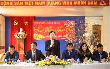 Chương trình gặp mặt đầu năm và chúc tết các chi nhánh, công ty con của lãnh đạo Công ty Cổ phần Cảng Hải Phòng