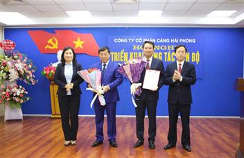 Hội nghị triển khai công tác cán bộ của Công ty Cổ phần Cảng Hải Phòng