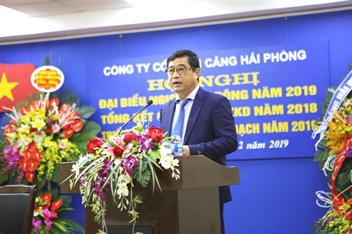 Hội nghị đại biểu Người lao động Cảng Hải Phòng năm 2019, tổng kết hoạt động sản xuất kinh doanh năm 2018 và triển khai nhiệm vụ kế hoạch năm 2019