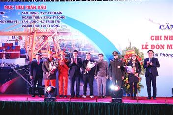 Lễ đón mã hàng đầu năm 2019 tại Cảng Hải Phòng