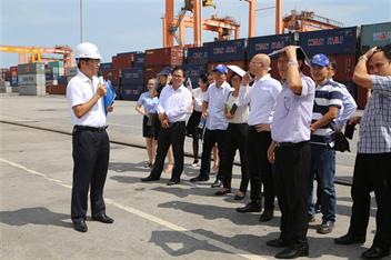 """Hội nghị """"Phát triển dịch vụ logistics tại Hải Phòng - nâng cao năng lực cạnh tranh và đẩy mạnh liên kết vùng"""""""