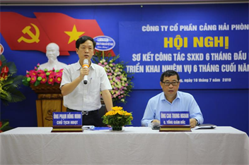 Hội nghị sơ kết công tác SXKD 6 tháng đầu năm, triển khai nhiệm vụ 6 tháng cuối năm 2019