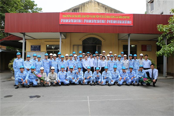 Khai giảng các lớp đào tạo nghiệp vụ cho Công ty Cổ phần Thép Hòa Phát Dung Quất theo mô hình liên kết tại Cảng Hải Phòng