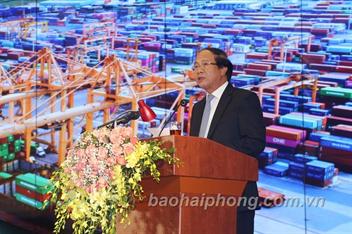 Phát biểu của đồng chí Lê Văn Thành, UVTW Đảng, Bí thư Thành ủy, Chủ tịch HĐND thành phố tại Lễ kỷ niệm 90 năm Ngày truyền thống của Đảng bộ và đội ngũ công nhân Cảng Hải Phòng