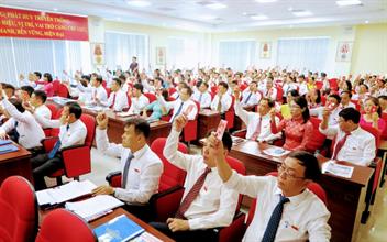 Phóng sự: Đại hội đại biểu Đảng bộ Công ty cổ phần Cảng Hải Phòng lần thứ XXX, nhiệm kỳ 2020 - 2025