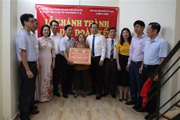 Khánh thành và bàn giao nhà Đại đoàn kết cho hộ nghèo trên địa bàn phường Lê Lợi