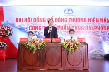 Công ty cổ phần Cảng Hải Phòng tổ chức Đại hội đồng cổ đông thường niên năm 2021