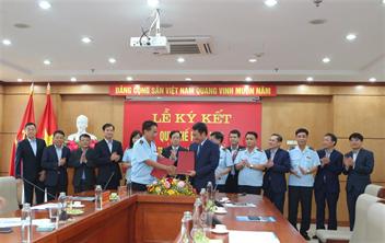 Lễ ký kết quy chế phối hợp giữa Công ty cổ phần Cảng Hải Phòng và Cục Hải quan thành phố Hải Phòng