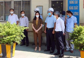 Đoàn giám sát của Ban Kinh tế - Ngân sách HĐND thành phố Hải Phòng làm việc tại Cảng Hải Phòng