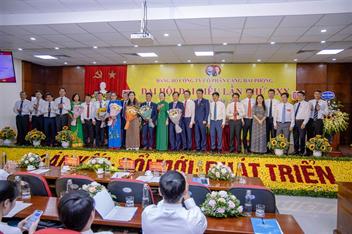 Đại hội đại biểu Đảng bộ Công ty cổ phần Cảng Hải Phòng lần thứ XXX, nhiệm kỳ 2020 - 2025 thành công tốt đẹp