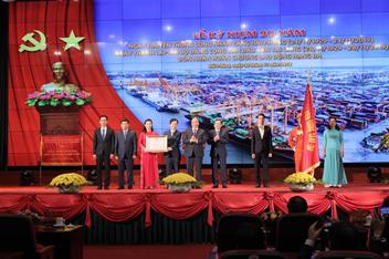 Thư cảm ơn của Ban Tổ chức Lễ kỷ niệm 90 năm Ngày Truyền thống của Đảng bộ và đội ngũ công nhân Cảng Hải Phòng