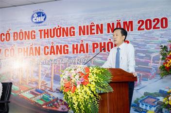 Đại hội đồng cổ đông thường niên năm 2020 Công ty Cổ phần Cảng Hải Phòng