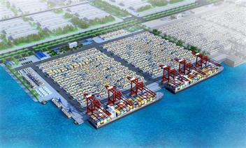 Đề xuất đầu tư 614 tỷ đồng xây đường kết nối 4 bến cảng Lạch Huyện