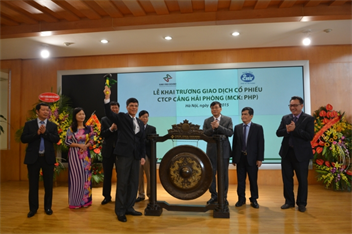 Formal posting of shares of the Port of Hai Phong Joint Stock Company on HNX