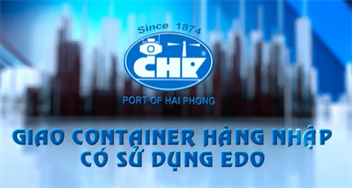Giao Container hàng nhập sử dụng EDO