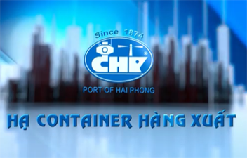 Hạ Container hàng xuất