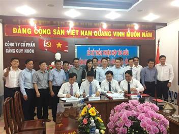 Lễ ký thỏa thuận hợp tác giữa Cảng Hải Phòng, Cảng Đà Nẵng, Cảng Quy Nhơn và Cảng Sài Gòn